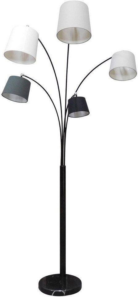 SalesFever Stehlampe »Maxim«, Lampenschirme und Arme beweglich