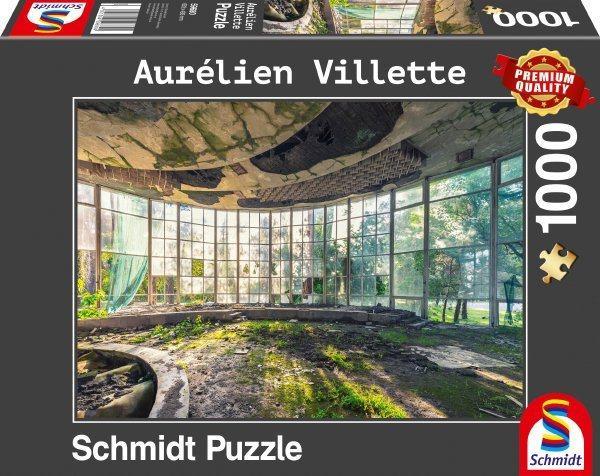 Schmidt Spiele Puzzle »Altes Café in Abchasien«, 1000 Puzzleteile, Aurélien Villette; Made in Europe