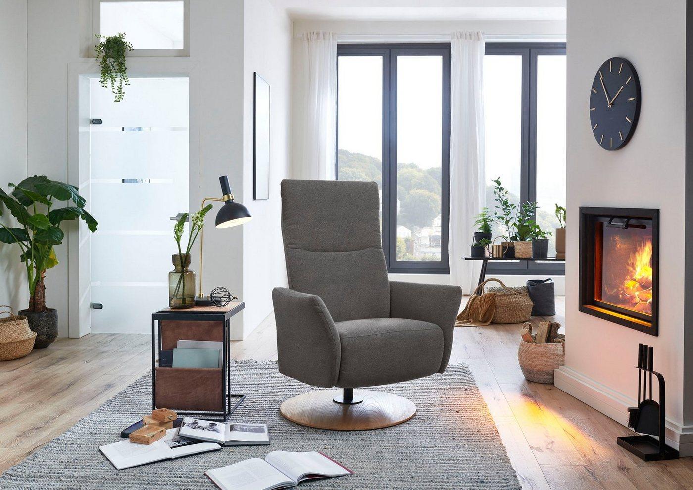 """DELAVITA Relaxsessel »Deike« (1-St), als Solitärsessel oder passend zur Serie """"Deike"""", grau"""