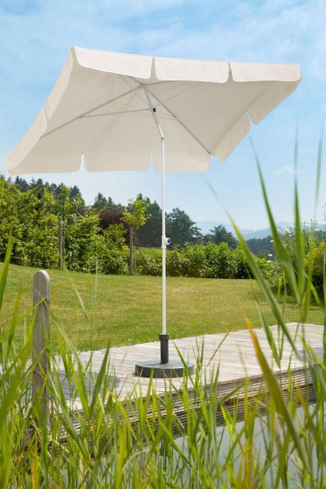 Schneider Schirme Sonnenschirm »Ibiza«, LxB: 180x120 cm, ohne Schirmständer, beige