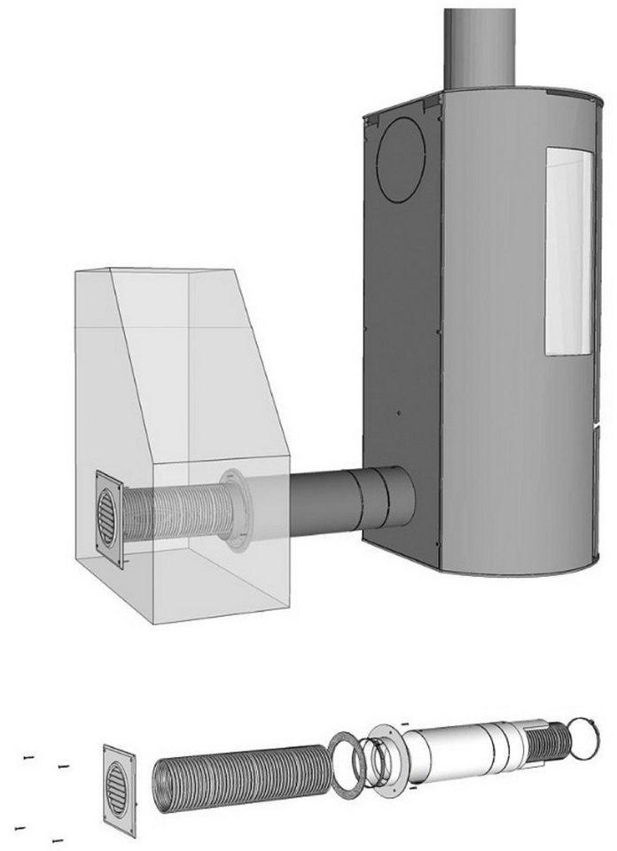 ADURO Ofenrohr »Frischluftsystem«, 80 mm