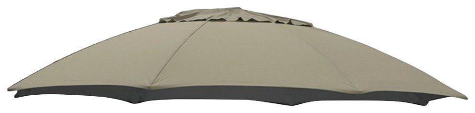 Ersatzschirmbespannung sungarden, Ø 375 cm, Ø 375 cm, rund, braun