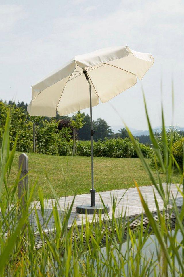 Schneider Schirme Sonnenschirm »Locarno«, ohne Schirmständer, beige