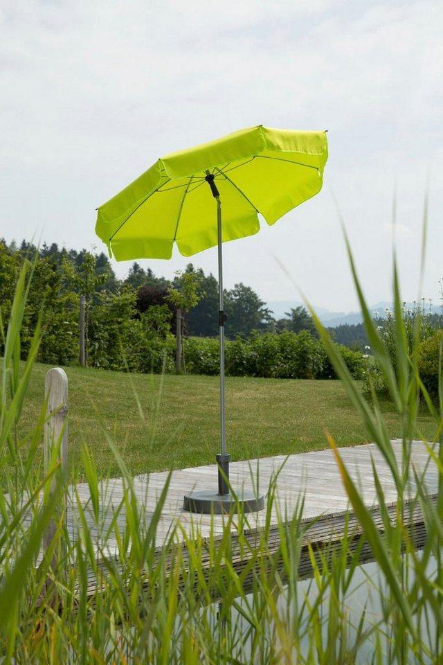Schneider Schirme Sonnenschirm »Locarno«, ohne Schirmständer, grün