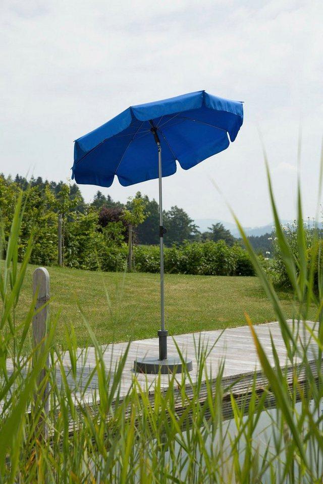 Schneider Schirme Sonnenschirm »Locarno«, ohne Schirmständer, blau