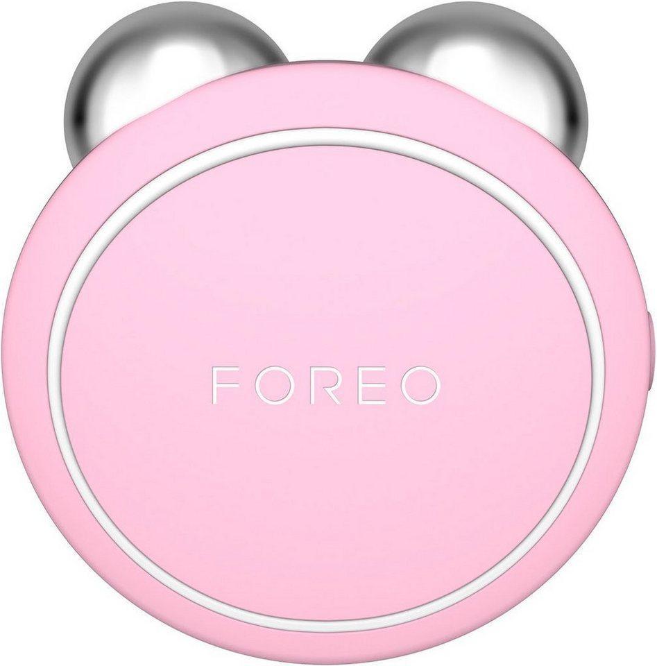 FOREO Anti-Aging-Gerät »BEAR Mini«, Gerät zur Gesichtsstraffung, rosa