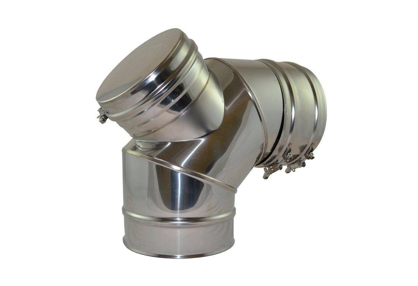 Zitec Ofenrohr Bogen, 150 mm, 90°, Bogenrohr