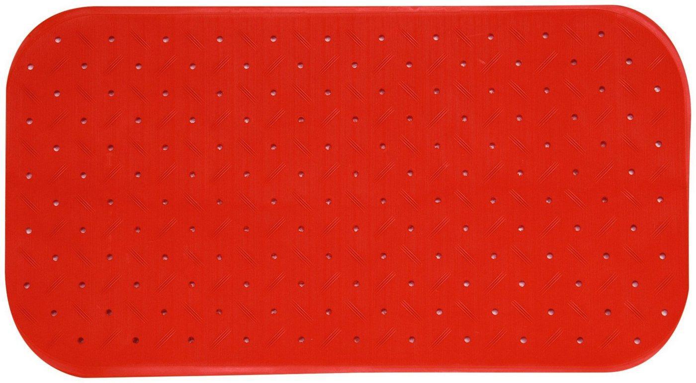 MSV Wanneneinlage »CLASS PREMIUM«, B: 76 cm, L: 36 cm, rutschfest, BxH: 76 x 36 cm, rot