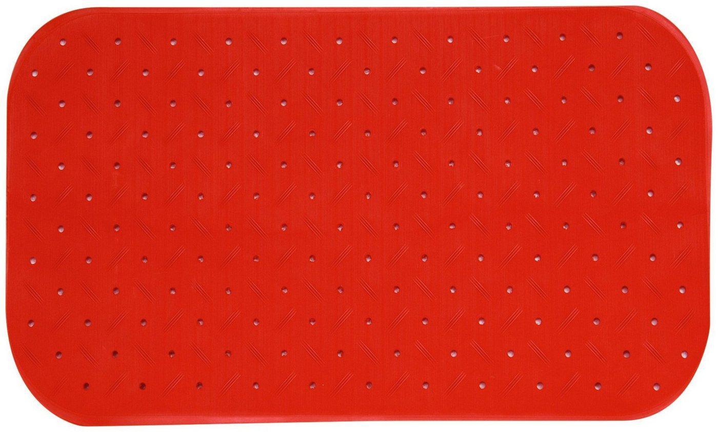 MSV Wanneneinlage »CLASS PREMIUM«, B: 65 cm, L: 36 cm, rutschfest, BxH: 65 x 36 cm, rot