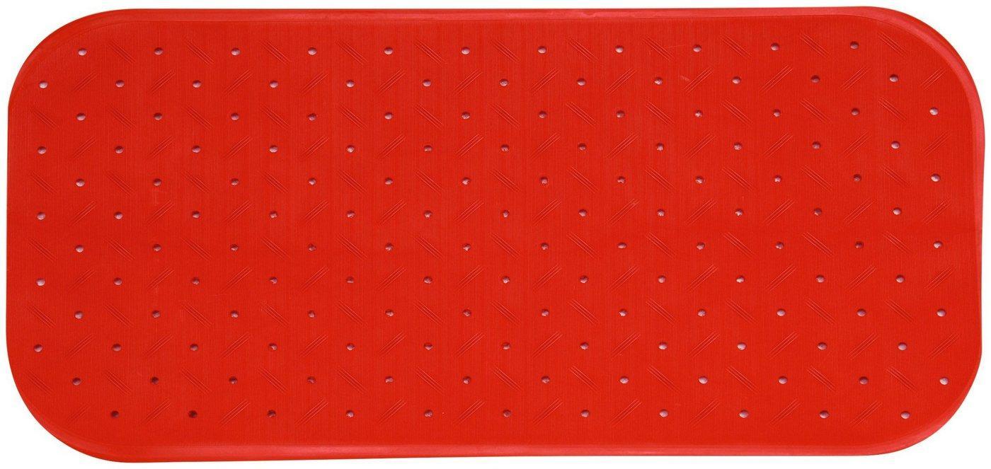 MSV Wanneneinlage »CLASS PREMIUM«, B: 97 cm, L: 36 cm, rutschfest, BxH: 97 x 36 cm, rot