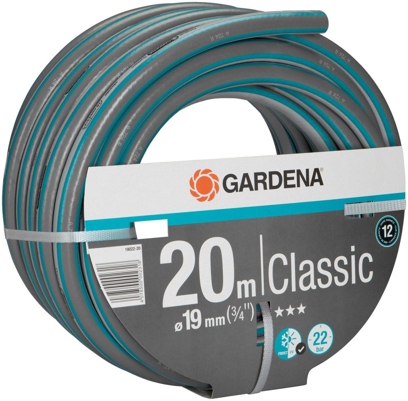 GARDENA Gartenschlauch »Classic, 18022-20«, 19 mm (3/4)