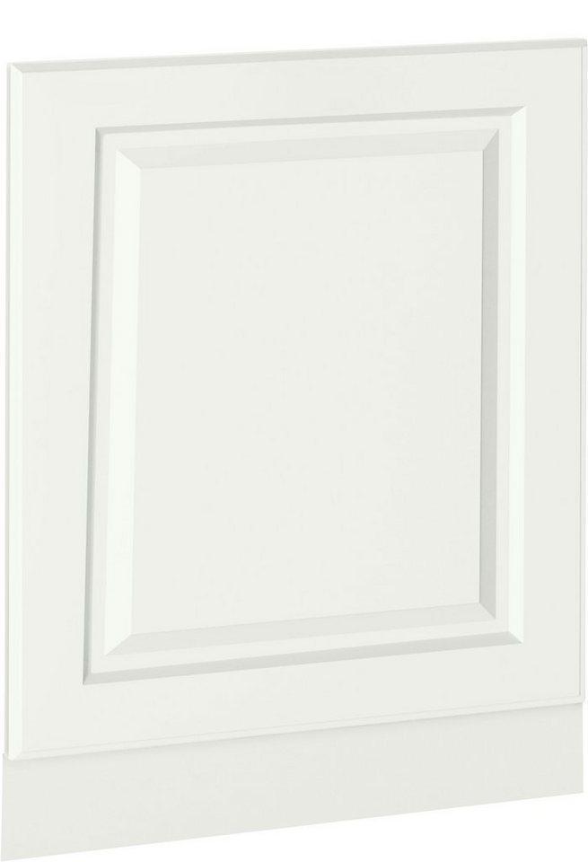 wiho Küchen Möbelblende »Erla«, 60 cm breit, für teilintegrierbaren Geschirrspüler, weiß