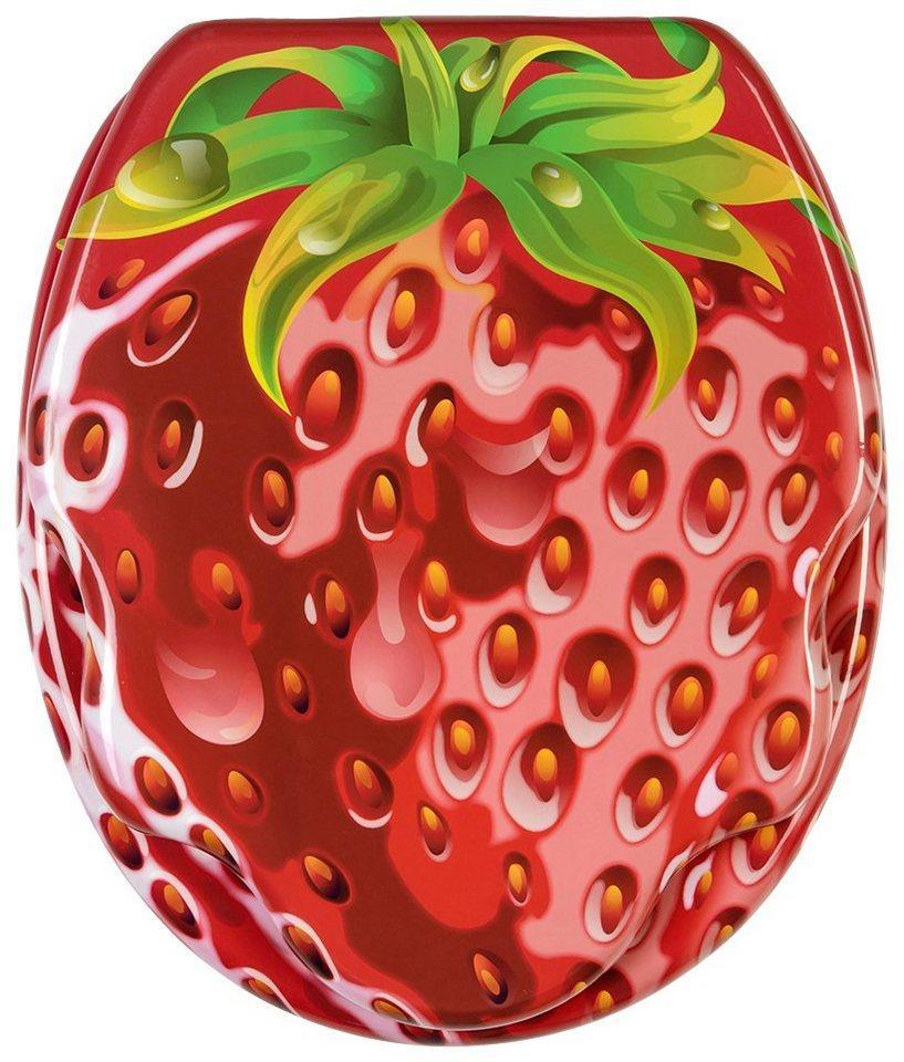 Sanilo WC-Sitz »Strawberry«