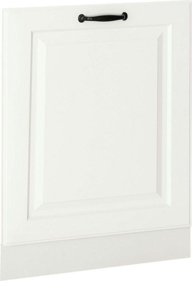 wiho Küchen Möbelblende »Erla«, 60 cm breit, für vollintegrierbaren Geschirrspüler, weiß