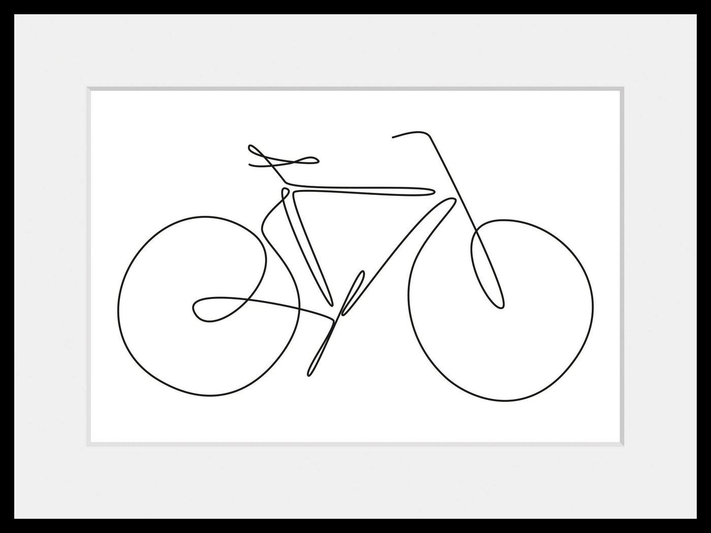 queence Bild »I want to ride my bicycle«, (1 Stück)