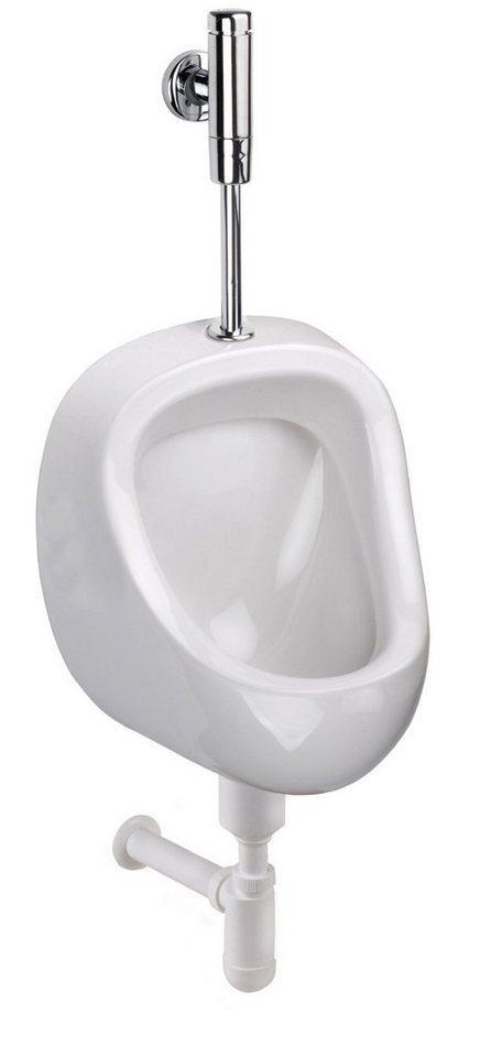 CORNAT Urinal »Urinal-Becken«, Keramik, (Set)