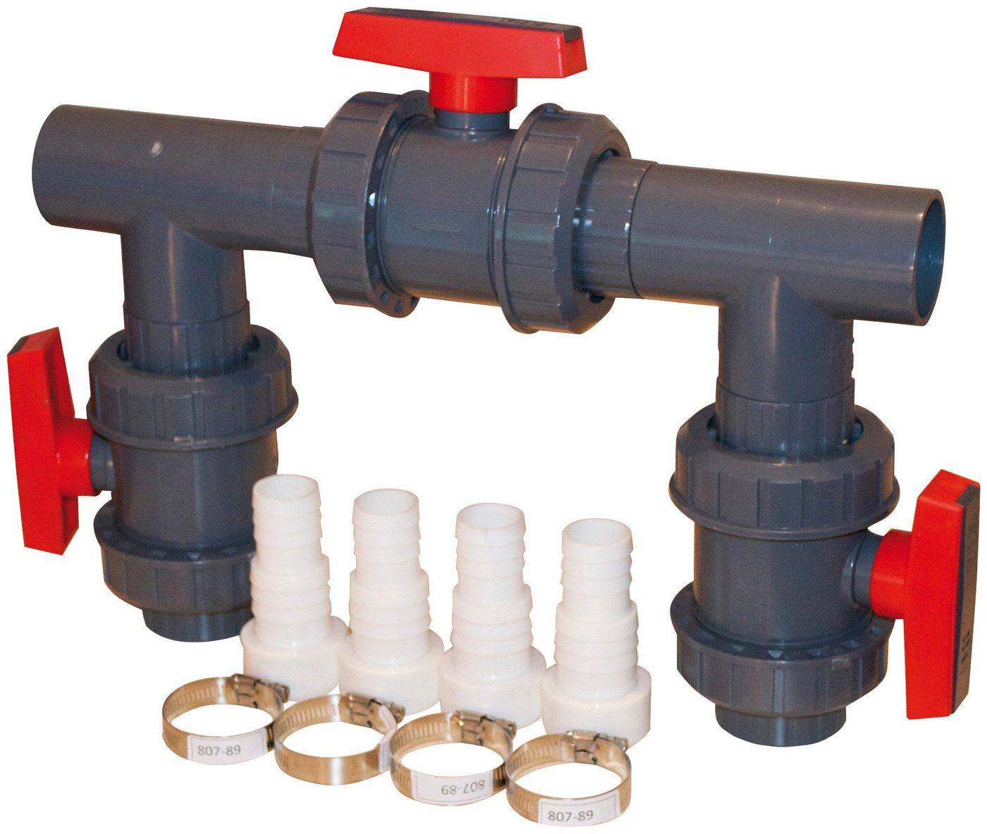 KWAD Poolheizung »Bypass Kit D50 für Wärmepumpen«, für Pools bis 60.000 l