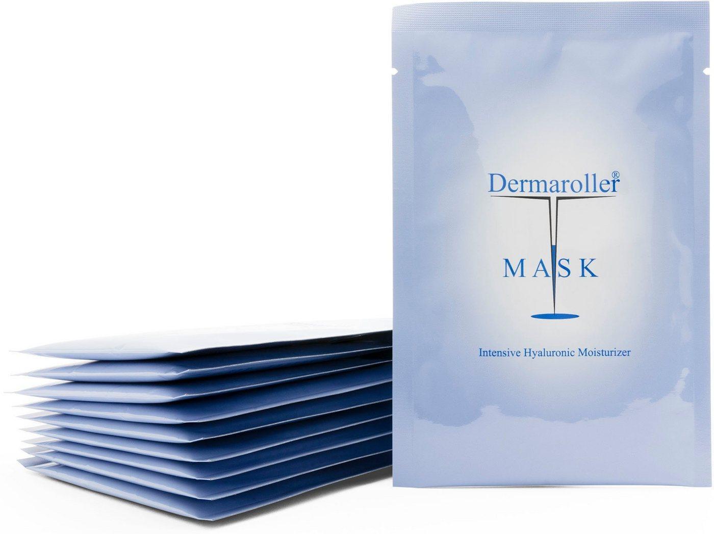 Dermaroller Tuchmaske »Hyaluron Maske« Packung, 10 Stück á 18ml