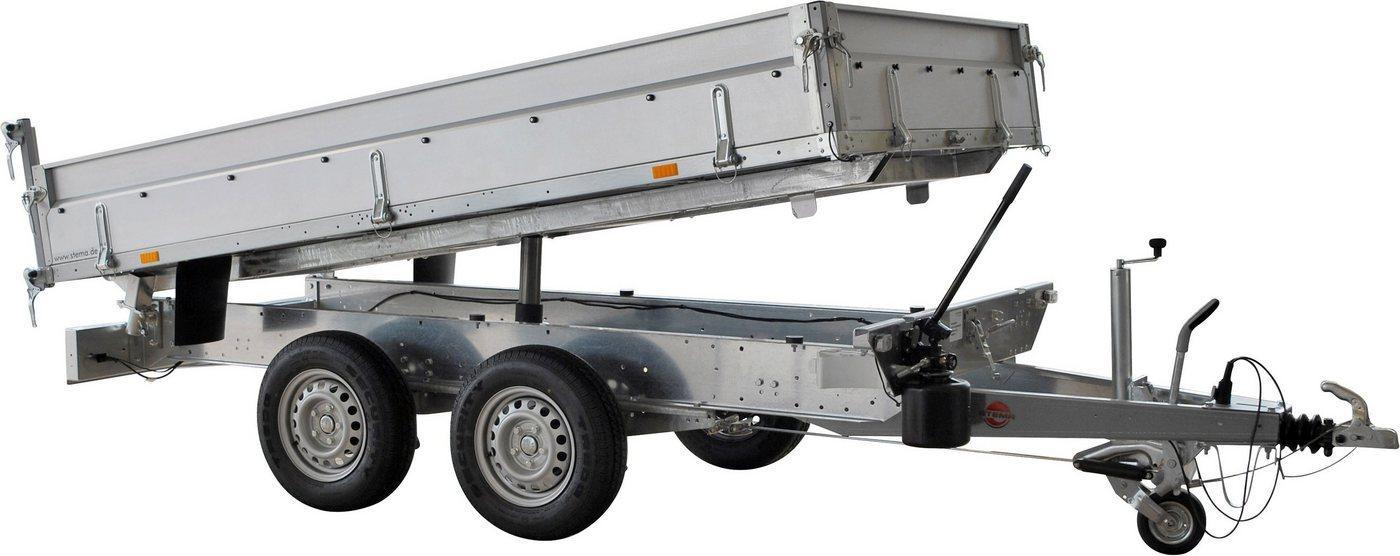 STEMA PKW-Anhänger »Rückwärtskipper 2,7 t«, max. 2000 kg, inkl. elektrischer Hydraulik