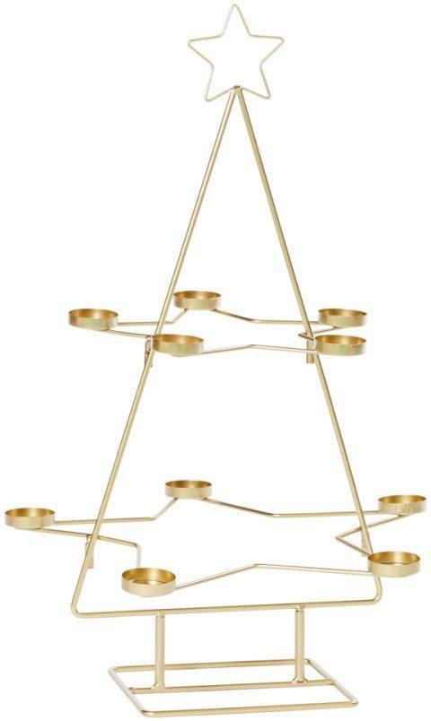 Teelichthalter »Weihnachtsbaum«, 10-flammig, Höhe 68 cm
