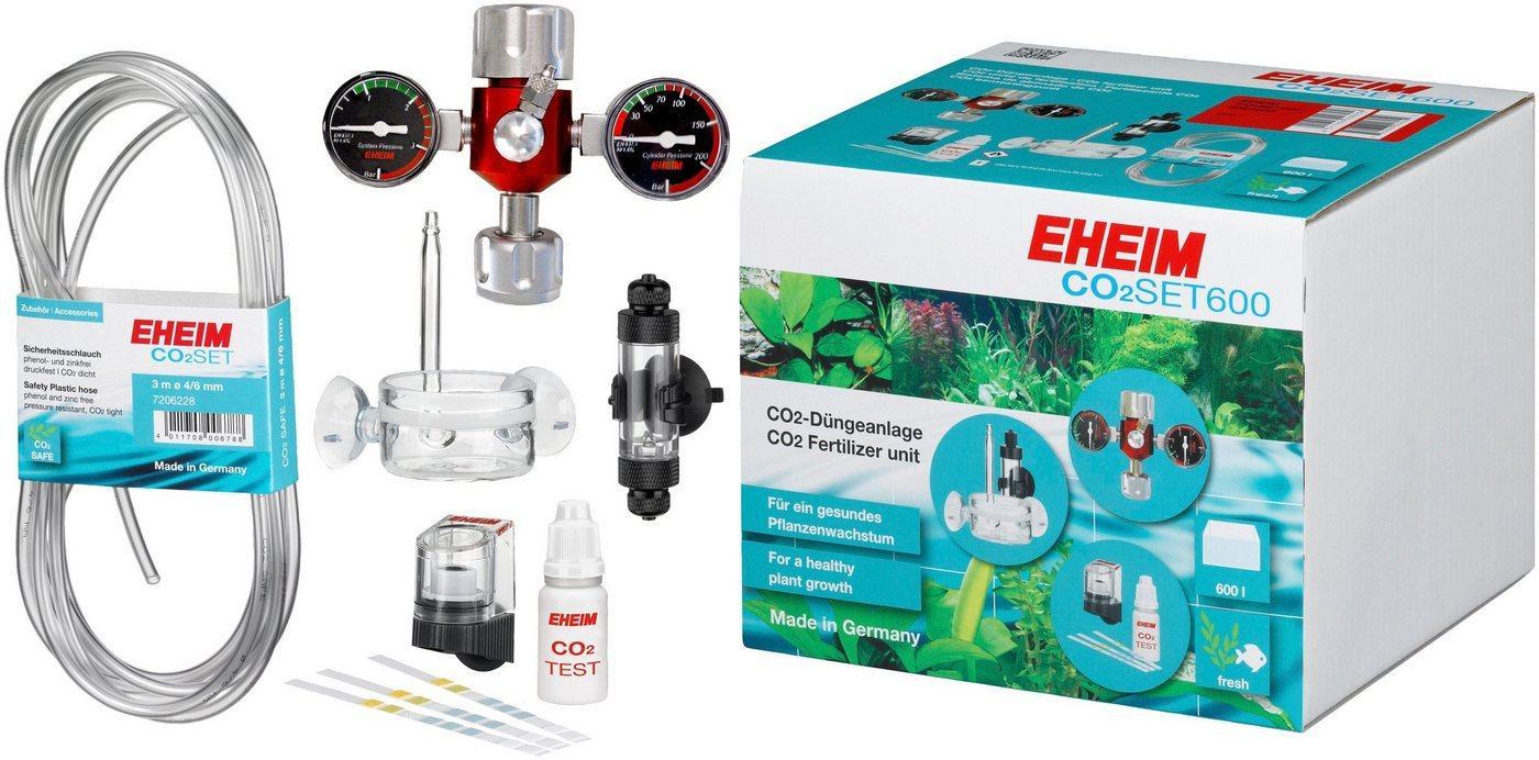 EHEIM Aquariumpflege »SET600«, (Set), CO²-Düngeanlage ohne Flasche
