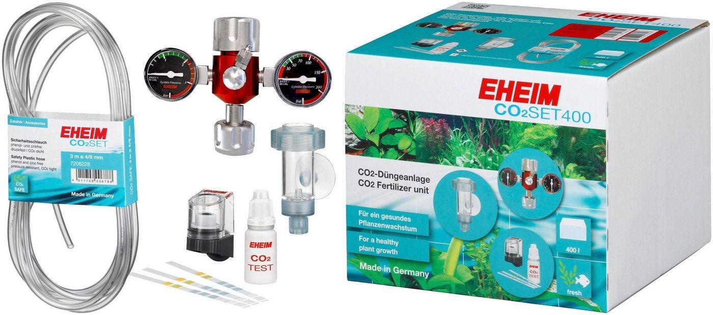 EHEIM Aquariumpflege »SET400«, (Set), CO²-Düngeanlage ohne Flasche
