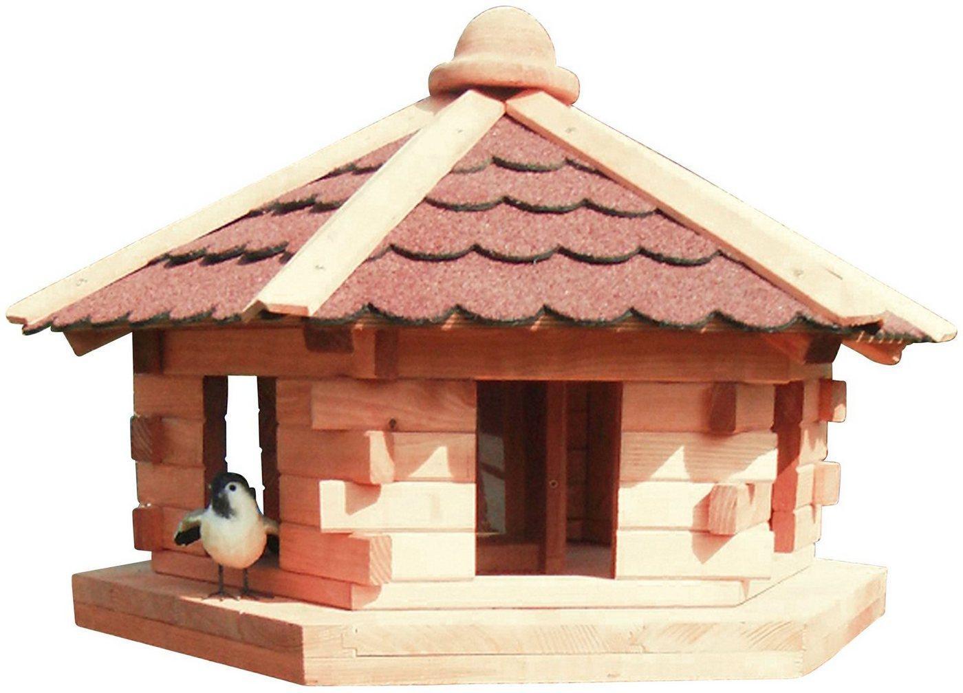 promadino Vogelhaus »Knusperhäuschen«, BxTxH: 59x50x38 cm