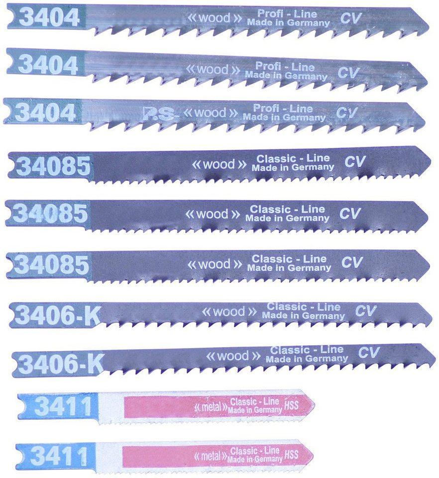 Connex Stichsägeblatt »Basis Holz« (Set, 10-St)