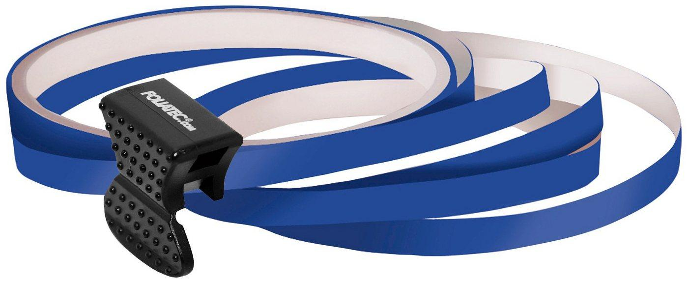 FOLIATEC Felgenaufkleber »Pin Striping«, (Packung, 5tlg), inkl. Montagewerkzeug