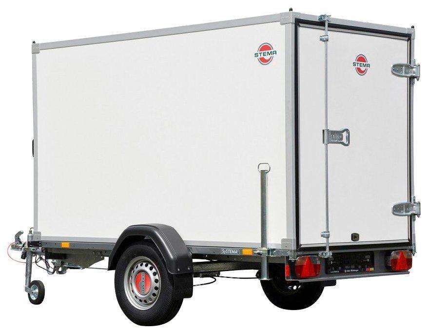STEMA PKW-Anhänger »SySTEMA Box O1 7.5-25-13.1 H. 15«, max. 390 kg, inkl. Abstellstütze und Stützrad