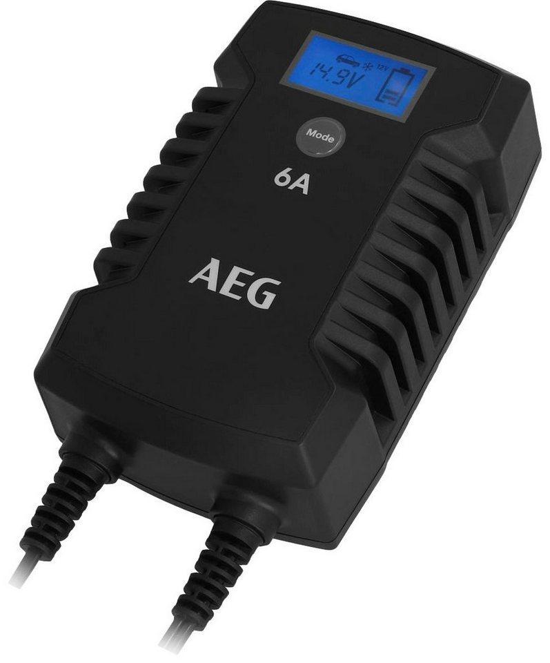 AEG »LD6« Autobatterie-Ladegerät (6000 mA)