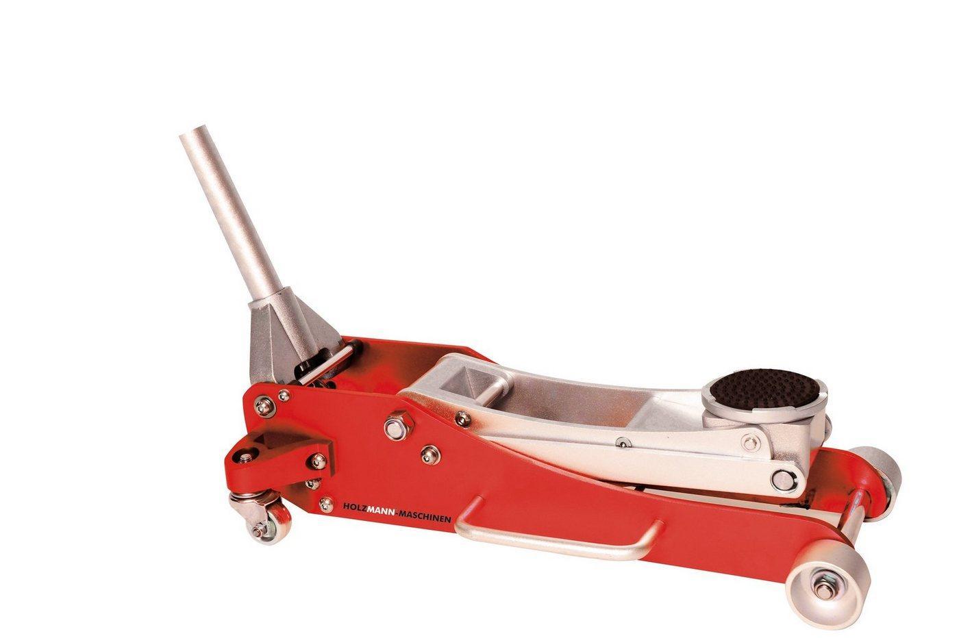 Holzmann Rangierwagenheber »RWH180ALU«, max. Hubhöhe: 47 cm, bis 1,8 t