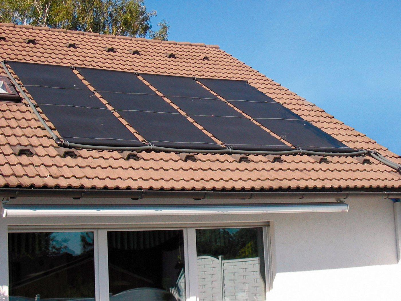 SUMMER FUN Solarabsorber, 9,6 m² Absorberfläche, 2 Matten