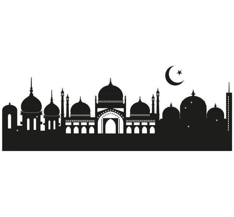 Wall-Art Wandtattoo »Skyline Islamische Stadt 120cm« (1 Stück)