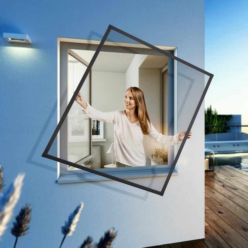 Windhager Insektenschutz-Fenster »EXPERT Spannrahmen«, BxH: 100x120 cm