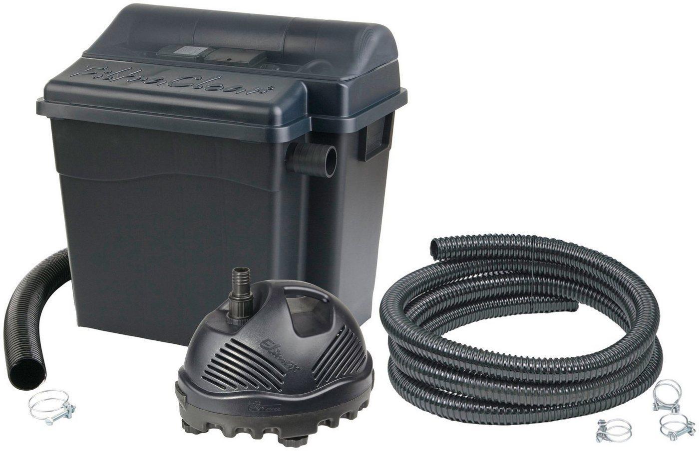 Ubbink Teichfilter »Filtra Clear 6000 PlusSet« (Set), mit UVC-Klärer, für Teiche bis: 4.500 l/h