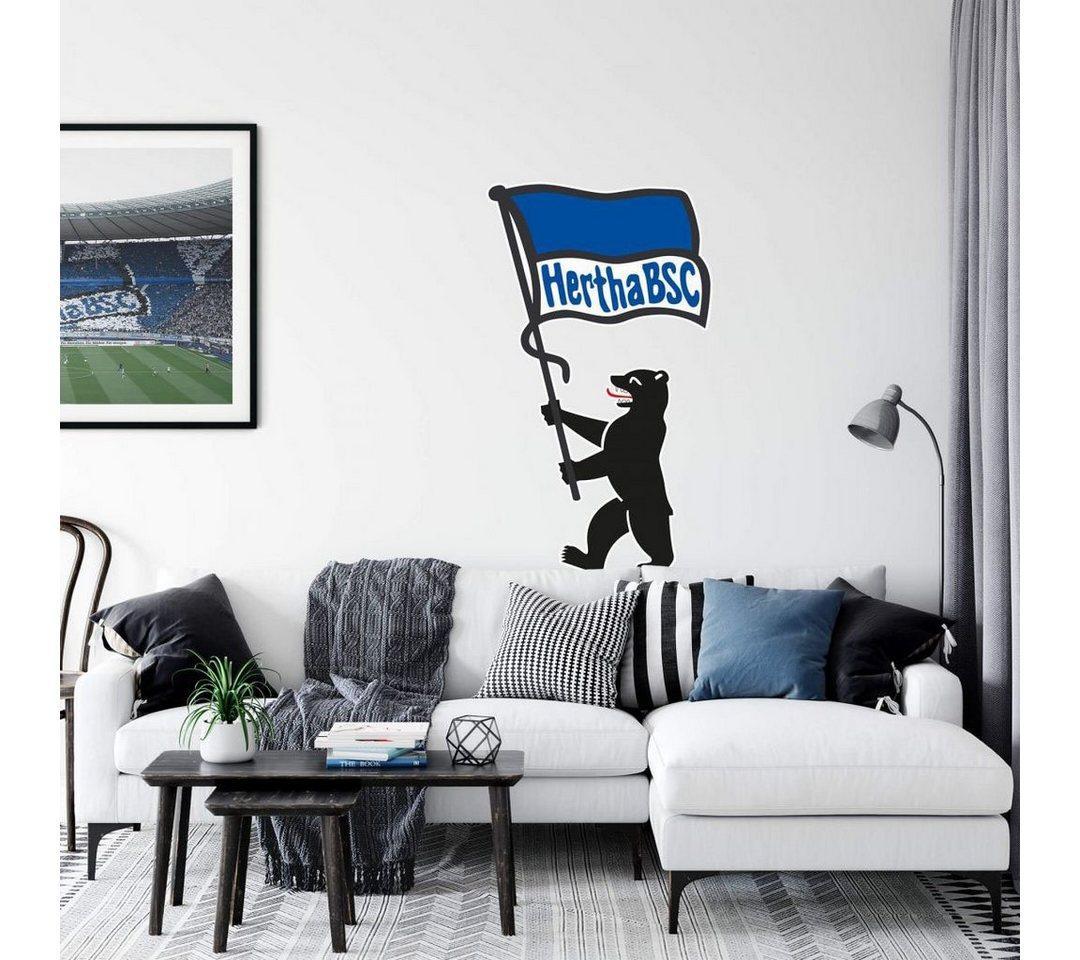 Wall-Art Wandtattoo »Berliner Bär + Hertha BSC Fahne« (1 Stück)