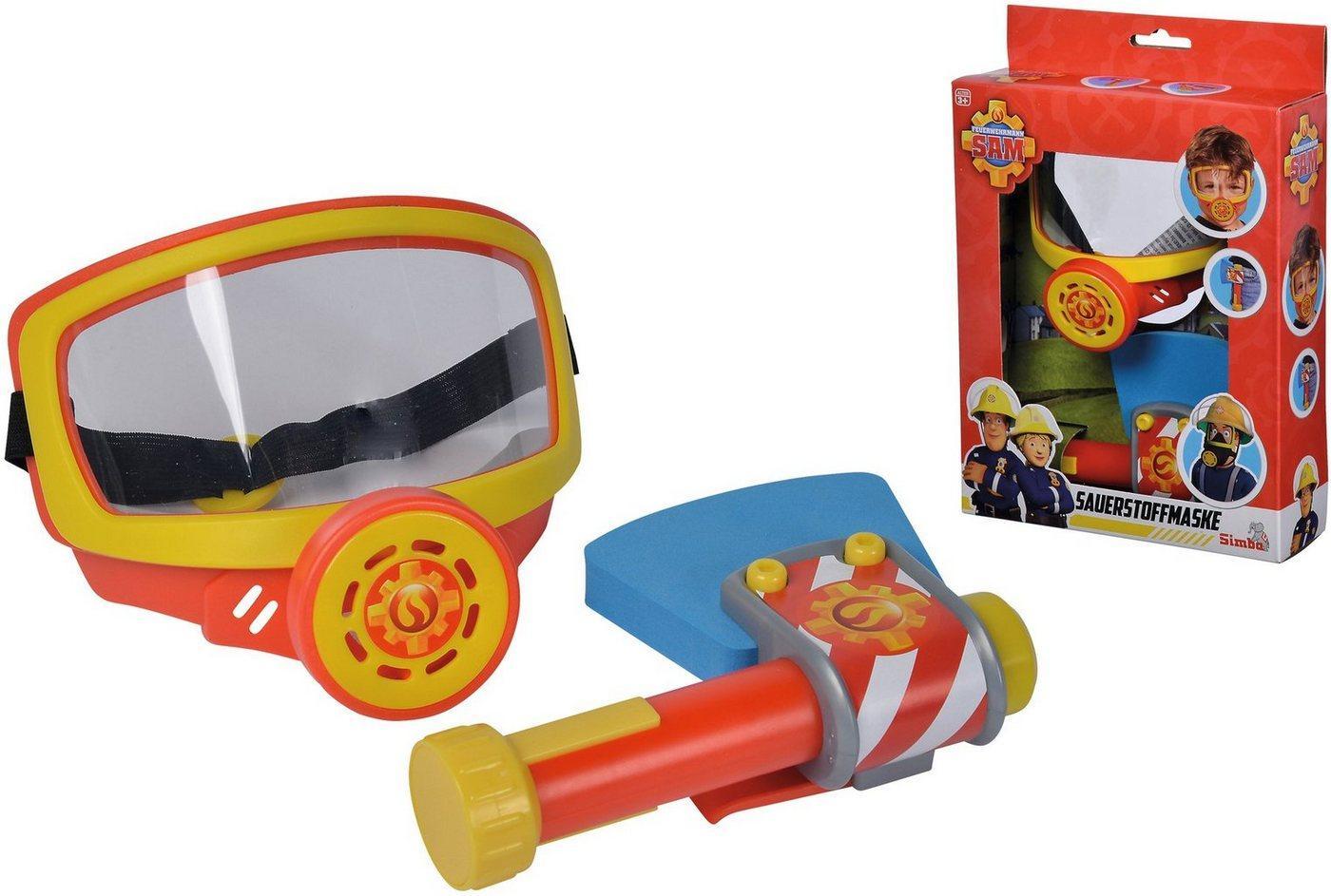 SIMBA Spielzeug-Sauerstoffmaske »Feuerwehrmann Sam, Feuerwehr Sauerstoffmaske«, (Set, 2-tlg), mit Spielzeug-Axt