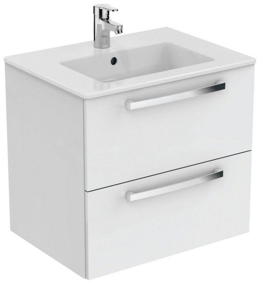 Ideal Standard Waschtisch »Eurovit Plus« (Set), 2 Auszüge, weiß