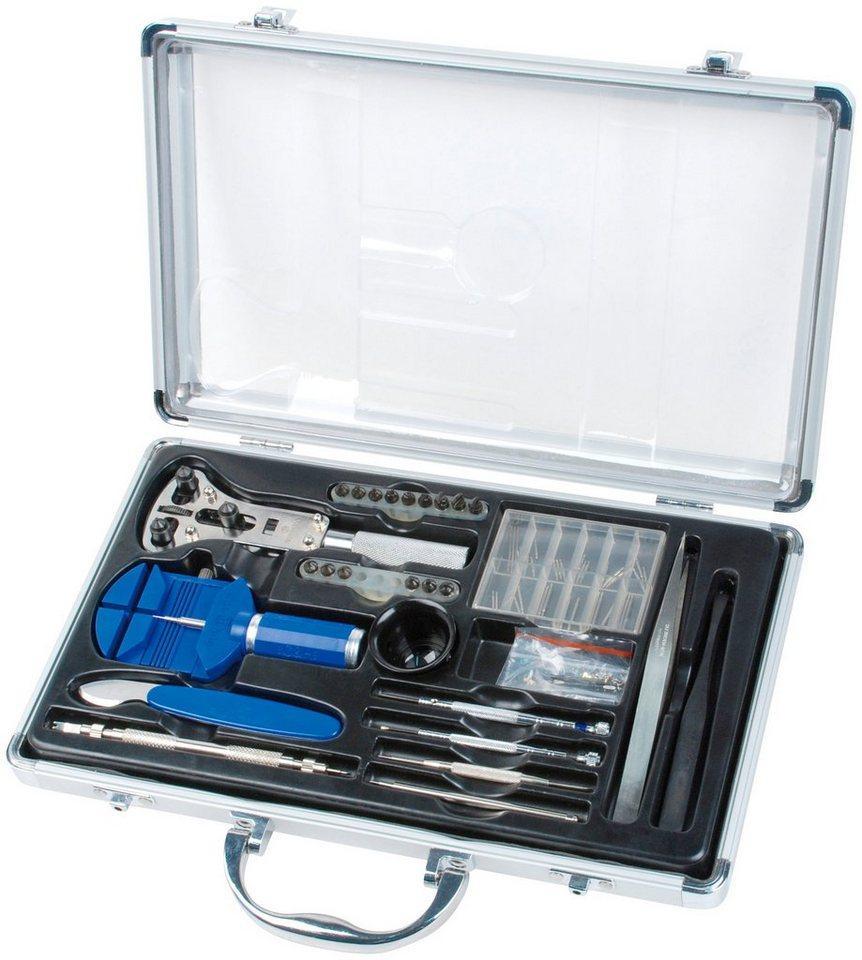 Brüder Mannesmann Werkzeuge Werkzeugset »Uhrmacher«, (174-St), Werkzeugsatz
