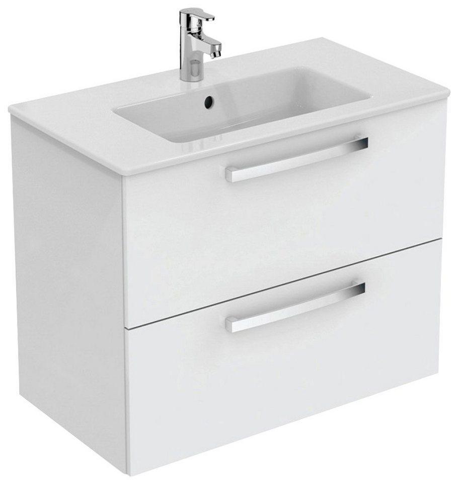 Ideal Standard Waschtisch »Eurovit Plus« (Set, 2-St), 2 Auszüge, weiß