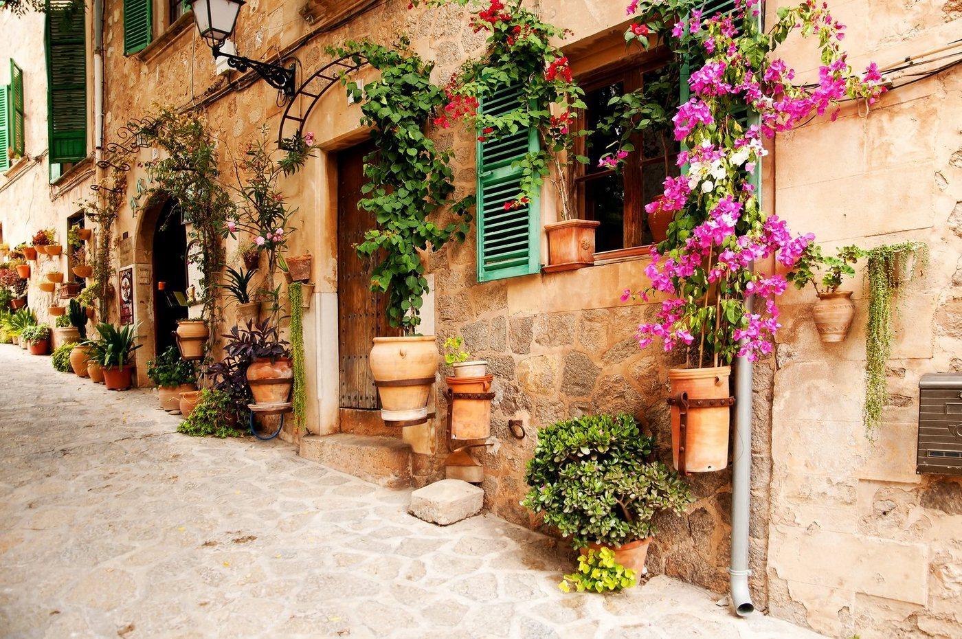 Papermoon Fototapete »Valdemossa Majorca«, glatt