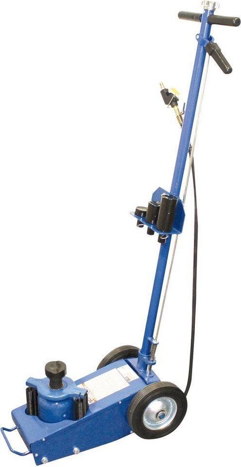 BGS Wagenheber, max. Hubhöhe: 43,5 cm, Lufthydraulisch