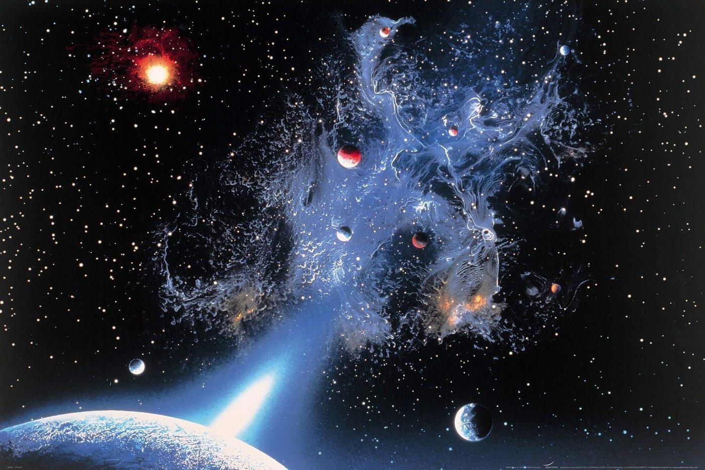 Papermoon Fototapete »Universum«, glatt