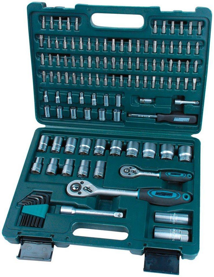 Brüder Mannesmann Werkzeuge Werkzeugset, (Set, 115-St)