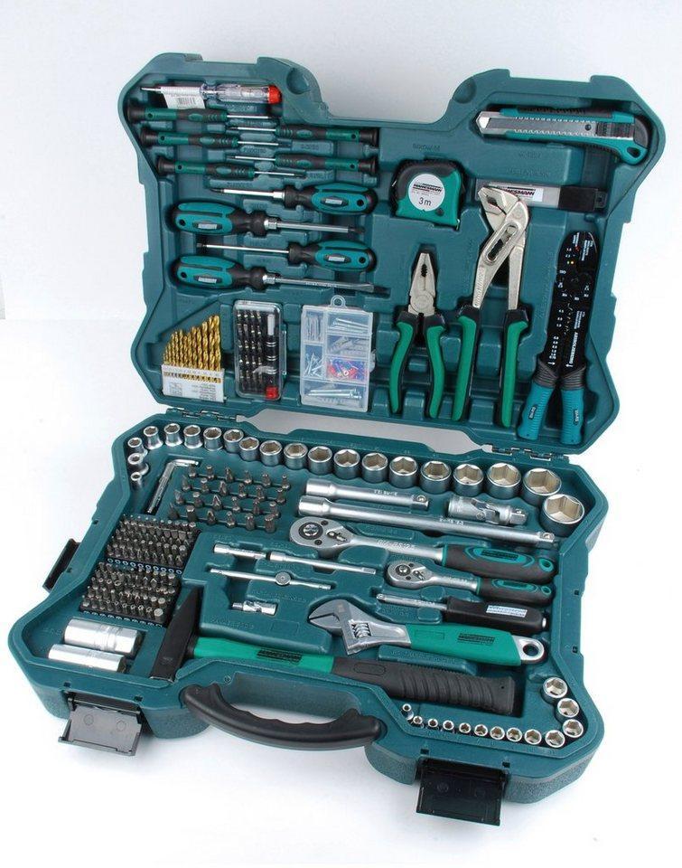 Brüder Mannesmann Werkzeuge Werkzeugset, (Set, 303-St)