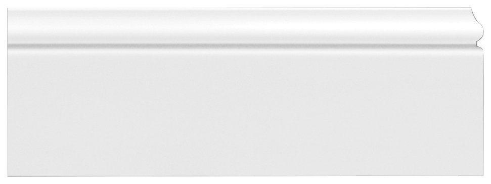 Homestar Zierleiste »CF 12«, kleben, überstreichbar, HD-Fussleiste