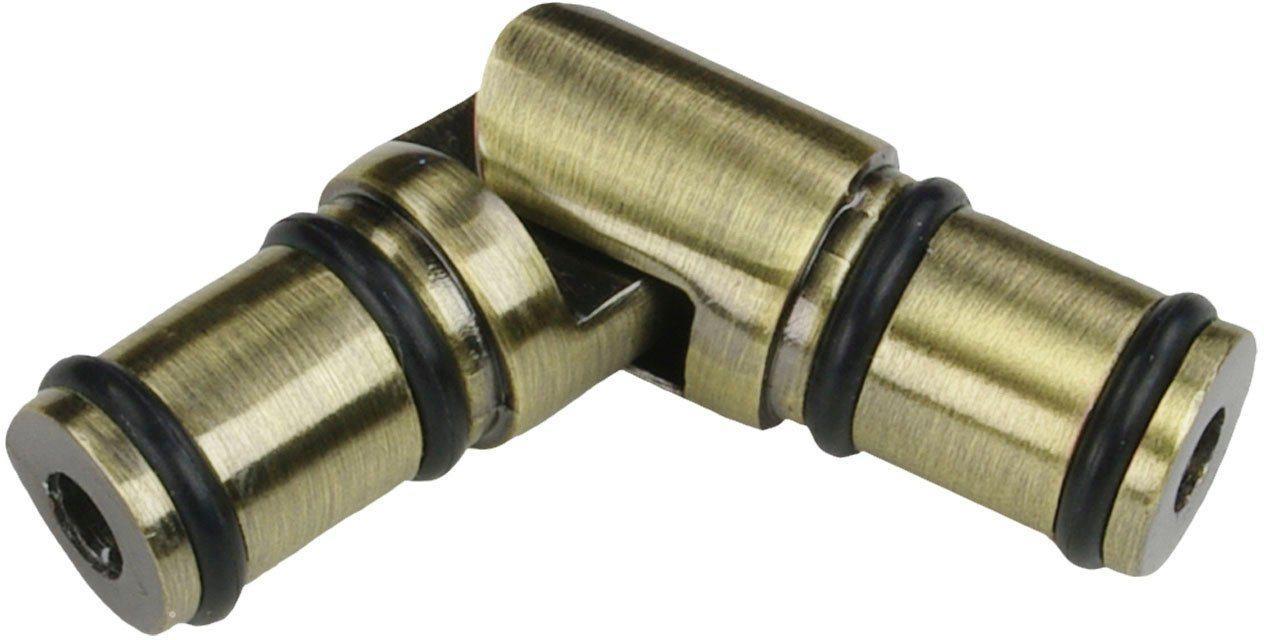 Gardinenbefestigungen Ersatzteile »Gelenkverbinder, Eckverbinder