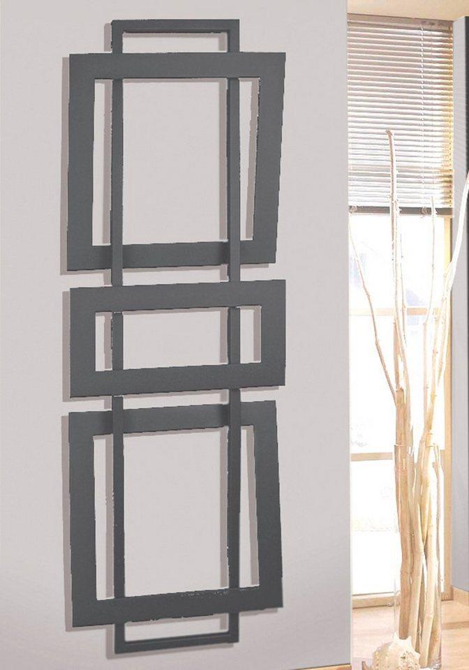 SZ METALL Designheizkörper »Art 1«, Badheizkörper, silberfarben