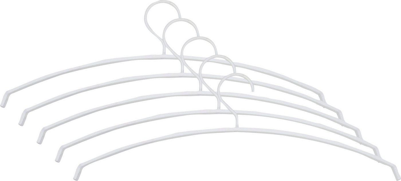 Spinder Design Kleiderbügel »Silver«, Breite 49 cm, weiß